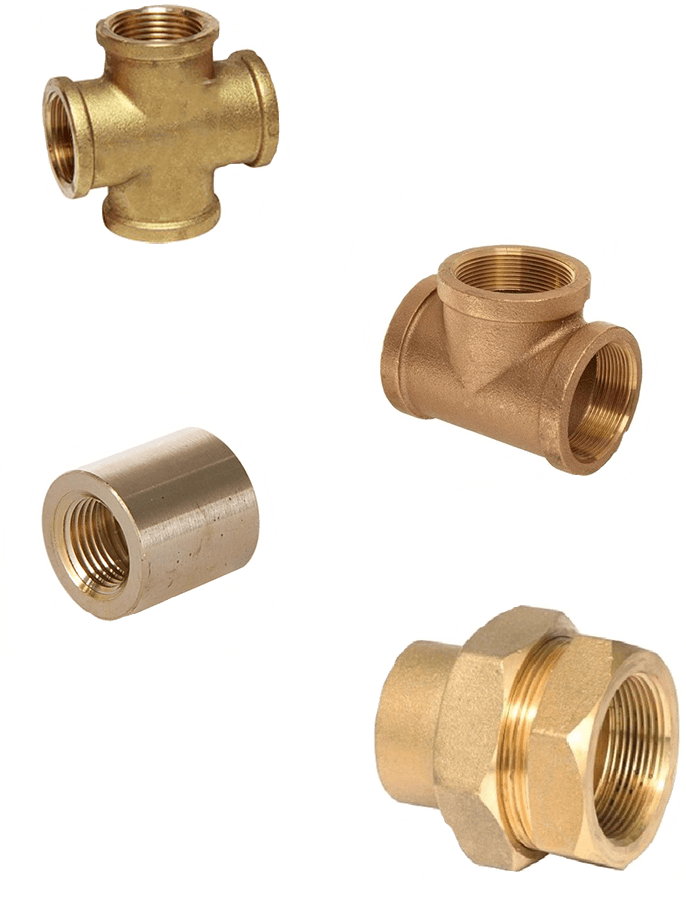 Copper Nickel 90/10 Threaded Fittings