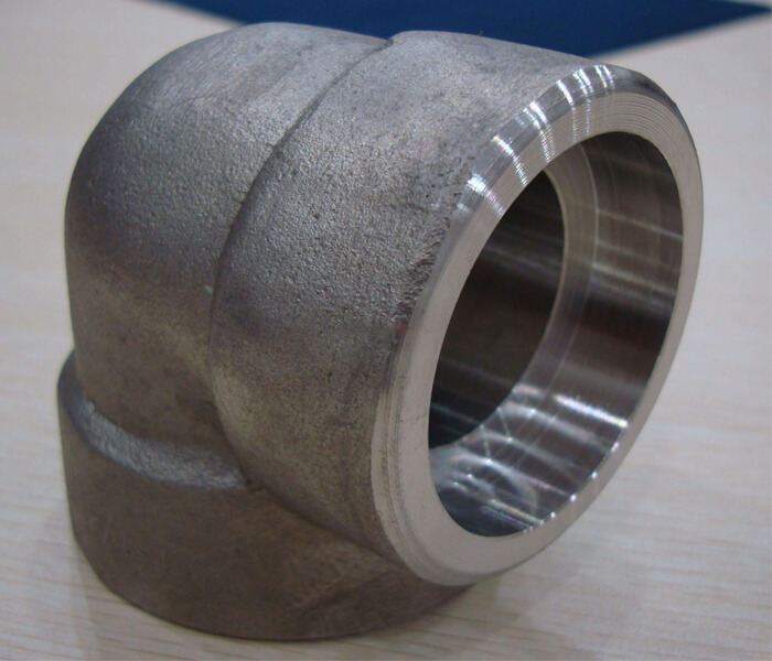 Duplex & Super Duplex Steel Socket Weld Elbow