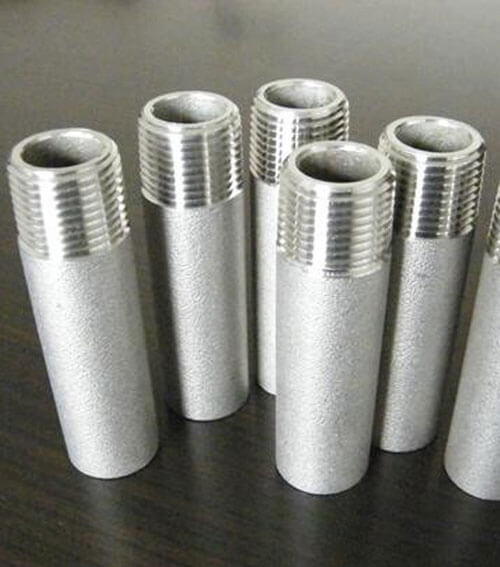 Stainless Steel Forged Hex Nipple