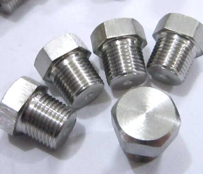 Stainless Steel Threaded Plug